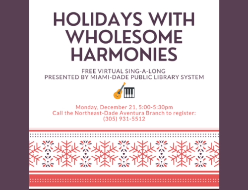 Virtual Holiday Sing-a-Long with Wholesome Harmonies