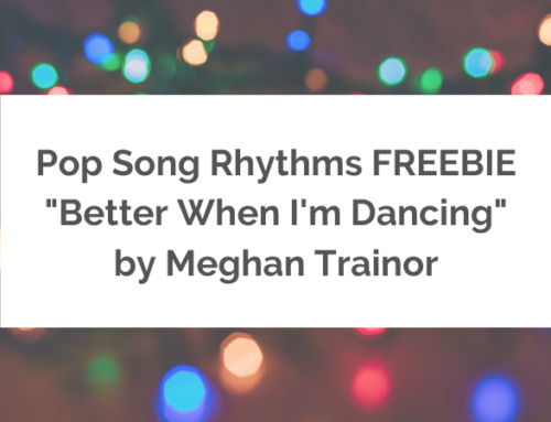 Pop Song Rhythms FREEBIE